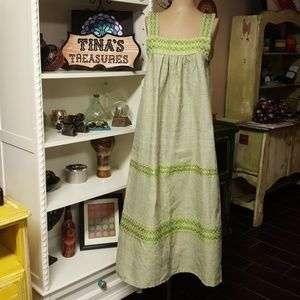 Vintage Mexican Tank Dress Super Cute.